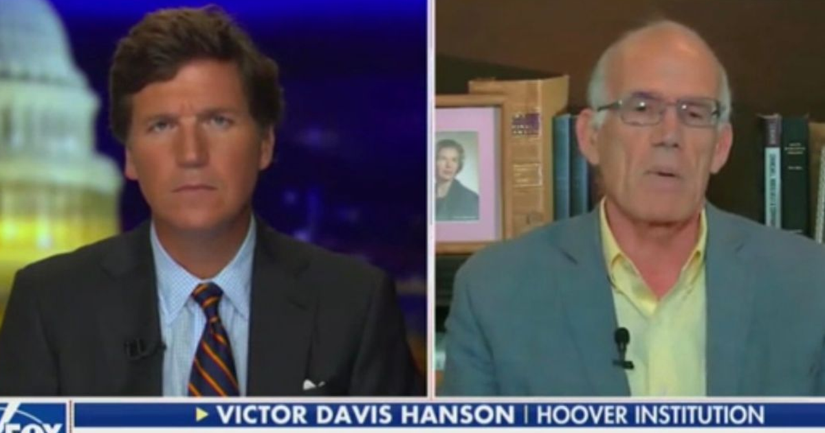 'Massive Civil Disobedience': Victor Davis Hanson Predicts Pushback As States Impose More Coronavirus Restrictions