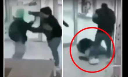 Alleged Robber Gets Absolutely Annihilated In Brutal Fashion