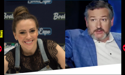 Alyssa Milano Chirps at Ted Cruz Over COVID Aid, He Makes Her Regret It