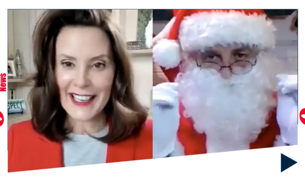 GRETCHEN WHITMER HIRES SANTA TO PROMOTE HER LOCKDOWN TO CHILDREN. IT'S AS BAD AS IT SOUNDS …