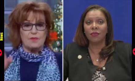 Joy Behar Pushes Letitia James To Say She'll Prosecute Trump