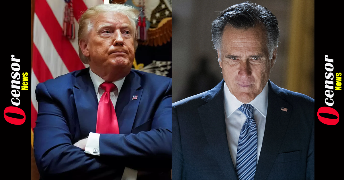 Romney Says Trump's Election Fraud Claims 'Damaging' America — Biden Is Subsequent President