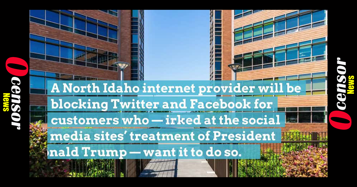 Internet Company Takes a Stand Against Facebook, Twitter After Censorship of Trump