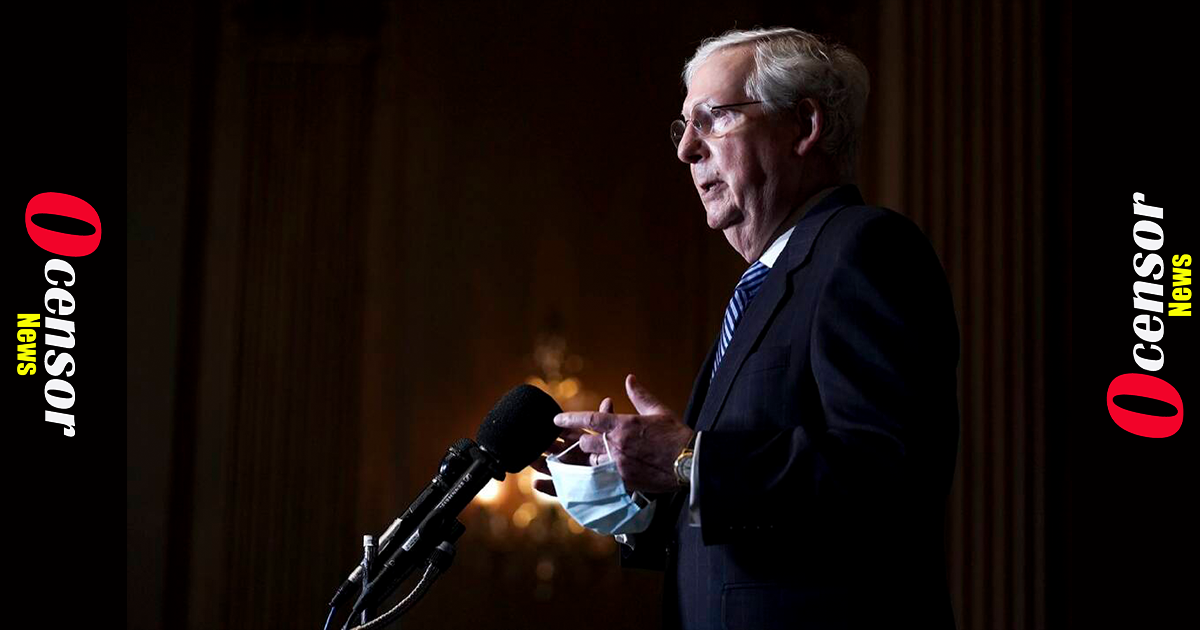 McConnell Says Capitol Rioters Were 'Fed Lies' and 'Provoked by the President'