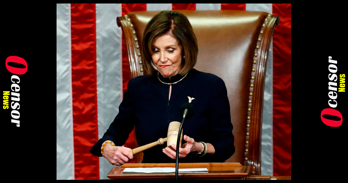 Nancy Pelosi Trying To Blackmail Pence, Either Remove Trump Or We Will