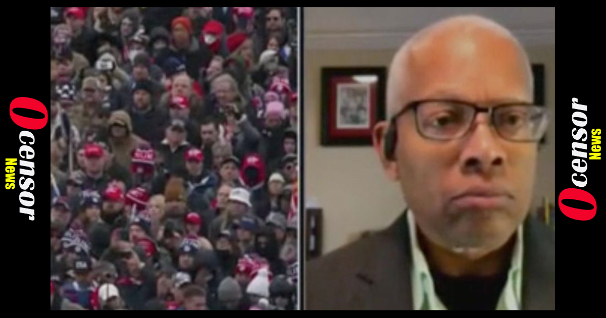 Rep. Hank Johnson: If Trump Supporter Wasn't Shot 'We Would Have Been Swinging From Those Railings'