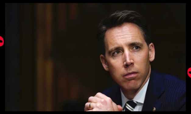 Sen. Josh Hawley Says Antifa 'Threatened' Wife, Newborn Daughter