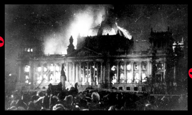 The left uses Capitol invasion as Nazis used the Reichstag fire