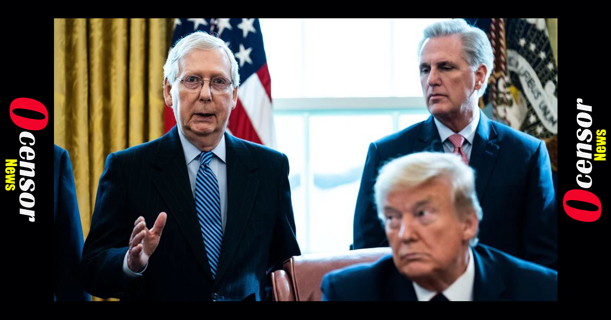 """After Abandoning Trump and Ignoring Election Irregularities, Republican """"Leaders"""" Now Want to Look Into Election Integrity – What Garbage!"""