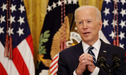 """President Joe Biden says he has """"no idea whether there will be a Republican Party"""" in 2024."""