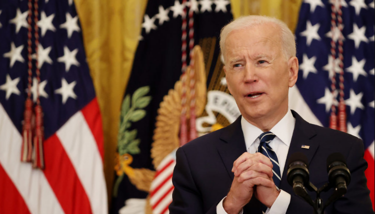 "President Joe Biden says he has ""no idea whether there will be a Republican Party"" in 2024."