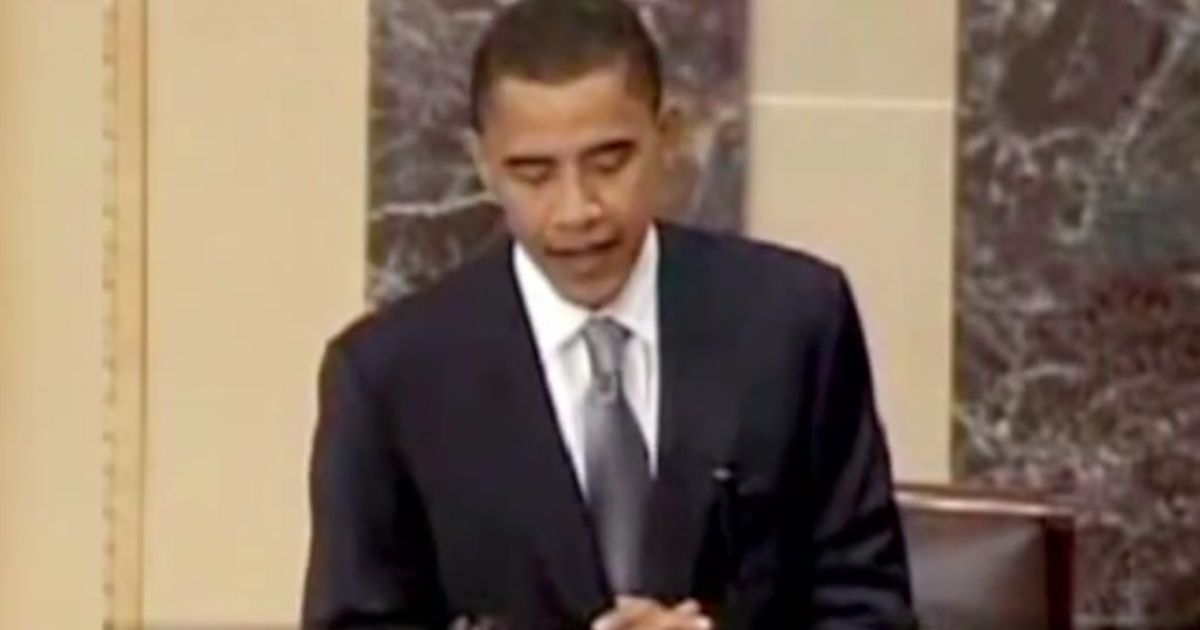 Obama's Words Come Back to Haunt Dems as They Attempt Historic Power-Grab