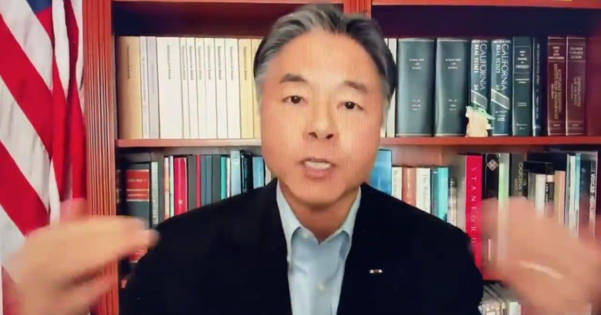 Watch: Rep. Ted Lieu Explodes After Congressional Witness Talked About Discrimination in College, Shouts Down the Stunned Guest