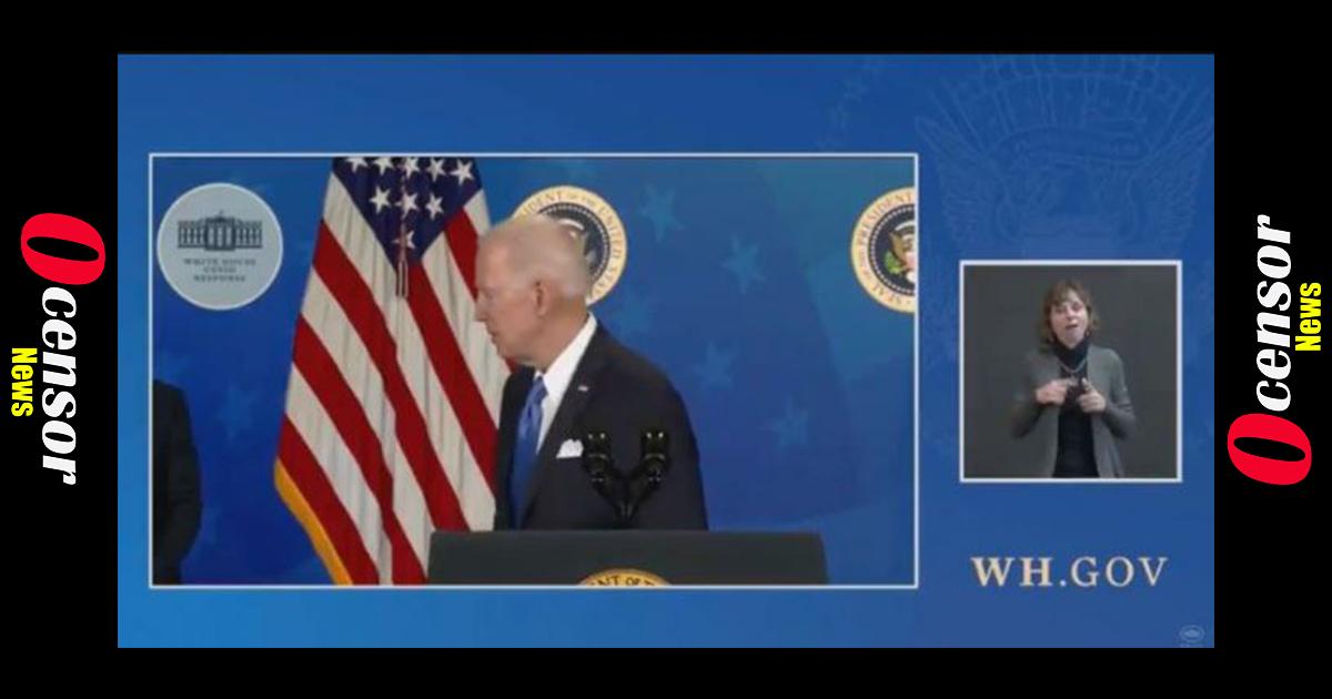 After Having Held ZERO Press Conferences Since Taking Office, Biden Shuffles Away and Ignores Questions About When He will Hold a Presser