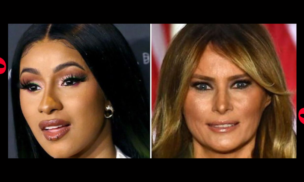 Cardi B Takes Swipe At Melania During Twitter Fight With Candace Owens