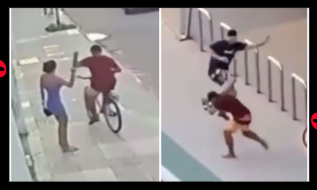 Guy In Brazil Gets Lit Up After Stealing A Woman's Phone In Epic Viral Video