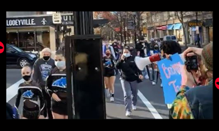 Watch: BLM Agitators Harass Young Cheerleaders, Accuse Girls of 'White Privilege'