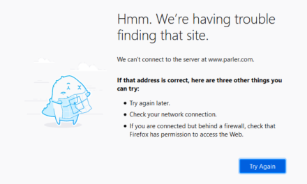 Website Browser, FIREFOX, starts to block Conservatives and Alternate Social Networks.