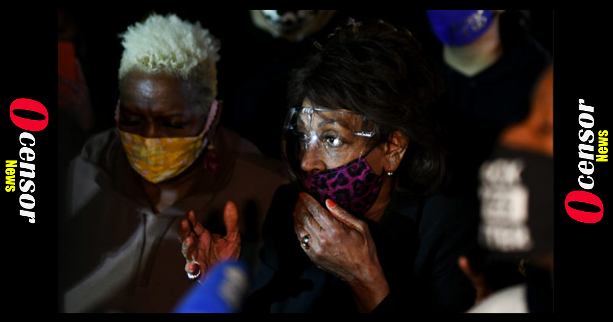 Facing Down Censure Vote, Maxine Waters Defiant: 'The Whole Civil Rights Movement Is Confrontation'