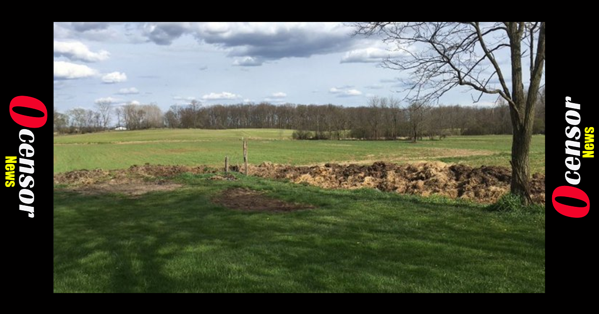 Man Builds 250-Foot Long Property Border Out Of Poop After Land Dispute Turns Nasty