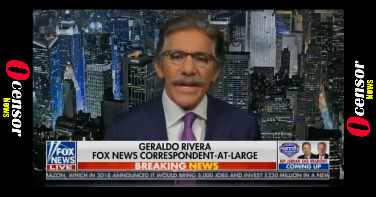 """You Son of a Bi#$% YOU PUNK!"" – Geraldo LOSES IT ON LIVE TV after Dan Bongino Lays Him Out on Hannity! (VIDEO)"