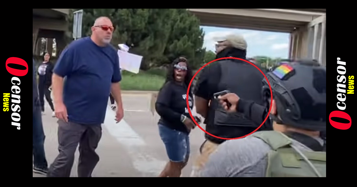 TWITTER ALLOWS BLM AND LEFTIST ACTORS TO DOX MAN WHO CONFRONTS GUN WIELDING GOONS BLOCKING TRAFFIC