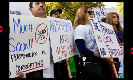 If You Oppose CRT or Vaccines, This Teachers' Union Is Going to Put You on a Naughty List