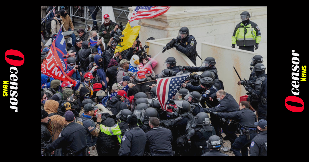 More Evidence Surfaces Revealing DC Police Attacked Trump Protesters On Jan. 6
