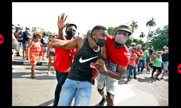 Thousands Protest for Freedom in Communist Cuba. The New York Times' Framing Would Please Stalin.