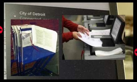 Whistleblower Provides Proof From Detroit TCF Center that Election Computers Were Connected Online — WITH PHOTO