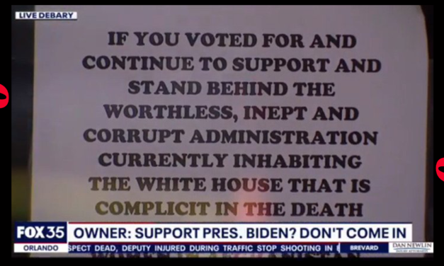 Florida Restaurant Who Tells Biden Voters They aren't Welcome Runs Out Of Food Due To Massive Growth In Customers