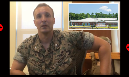 Marine Officer Who Posted Criticism Against Biden's Withdrawal From Afghanistan IN Jail
